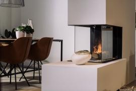 E-Matrix 800/500 roomdevider Faber Dimplex elektrische haard OptiMyst vuur Nieuw model!